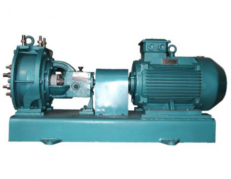 Fluorine plastic single suction pump
