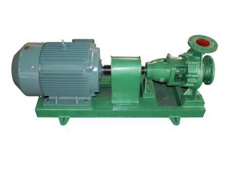 Rinsing centrifugal pump